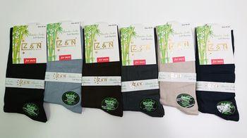 ZN классические бамбуковые носки