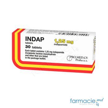 купить Indap comp. 1,25 mg N10x3 в Кишинёве