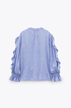 Блуза ZARA Голубой 2949/030/406