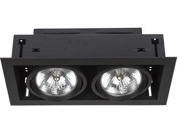 купить Светильник DOWNLIGHT 2л черн 6304 в Кишинёве