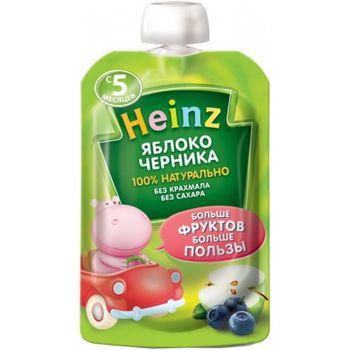 cumpără Heinz piure din mere și afine, 5+ luni, 90 g în Chișinău
