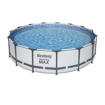 Бассейн Steel Pro Max 457x107cm, 14970Л, метал каркас