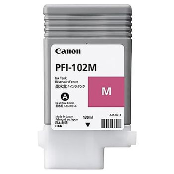 Cartridge Canon PFI-102M, Magenta for iPF500/600/700Series