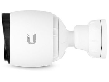 "Ubiquiti UniFi G3 Video Camera UVC-G3-BULLET, 1080p Full HD, 30 FPS, 1/3"" 4-Megapixel HDR Sensor, EFL 3.6 mm, f/1.8, Microphone, Wall/Ceiling/Pole Mount, Outdoor Weather Resistant, 802.3af PoE or 24V"