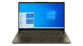 Lenovo Yoga Slim 7 14IIL05, Dark Moss