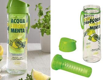 Sticla de baut Snips Mint&Lemon 0.75l cu infuzor, tritan