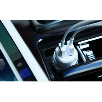 Автомобильная зарядка Nillkin Auto adapter 3.4A Jelly