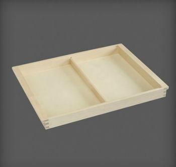 cumpără Container 2 compartimente din lemn pentru accesorii 530x405x44 mm în Chișinău