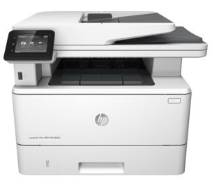 "HP LaserJet Pro MFP M426fdw Print/Copy/Scan/Fax 40ppm, 256MB, Duplex, 50 sheets DADF, 1200dpi, 3"" touch display, up to 80000 pag., USB 2.0, Host USB, Gigabit Ethernet, Wireless 802.11, HP PCL 5,6; Postcript 3, direct PDF, ePrint,  AirPrint, White"