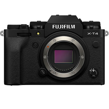 Fujifilm X-T4 black body, Mirrorless Digital Camera Fujifilm X System (Aparat fotografic)