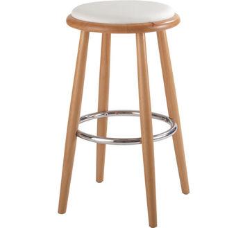 купить Деревянный стул с кожаными сиденьями, 440x440x780 мм в Кишинёве