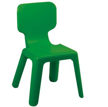 cumpără Scaun din plastic pentru copii, 420x400x330 mm, verde în Chișinău