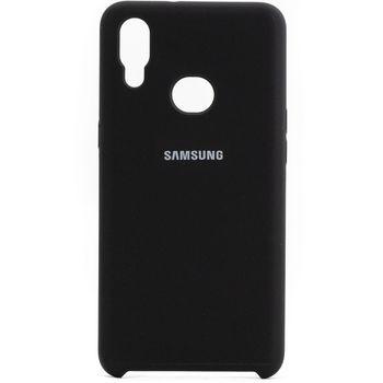 купить Чехол ТПУ Helmet Liquid Samsung Galaxy A01(A015), Black в Кишинёве