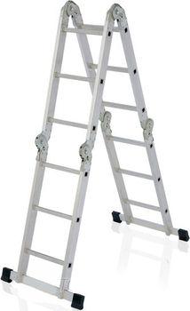 купить Ascara. M 4x3  Лестница алюминиевая универсальная Elkop в Кишинёве