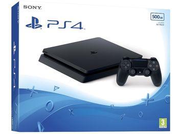 cumpără Game Console Sony Playstation 4 Slim 1 TB Black + CD Game FIFA18, 1 x Gamepad (Dualshock 4) în Chișinău