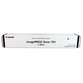 Toner Canon T01 Black, (1660g/appr. 56 000 pages 5%) for Canon imagePRESS C8xx,C7xx,C6xx,C6x