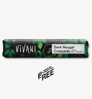 Ciocolată cu nuga întunecată Vivani 35g
