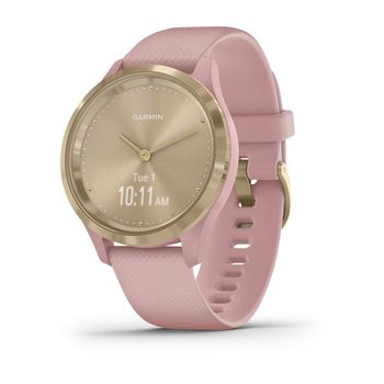 Garmin Vivomove 3S, Light Gold, Dust Rose, Silicone