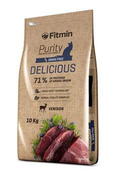купить Fitmin cat purity delicious (полнорационный беззерновой корм) в Кишинёве