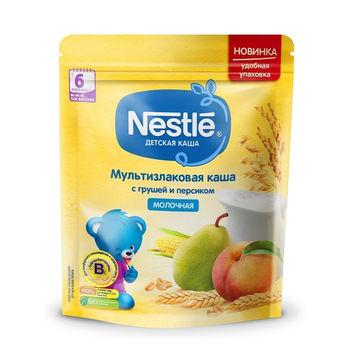 cumpără Nestle Terci cu lapte din cereale cu pere, piersici 220g în Chișinău