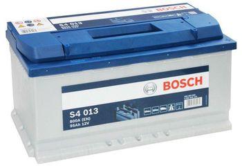 Bosch S4 12V 95Ah 800EN 353x175x190 -/+