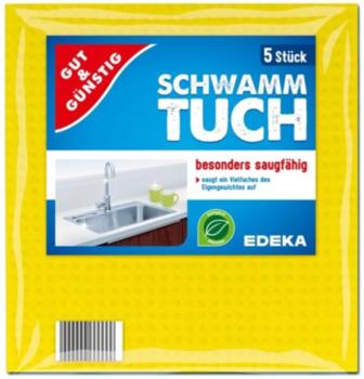 G&G Schwamm-tuch салфетки универсальные 5 шт