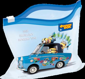купить Пакеты-слайдеров для хранения Фрекен Бок Minions, 10 шт. в Кишинёве