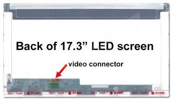 "Display 17.3"" LED 30 pins HD+ (1600x900) Socket Left-Side Glossy Innolux N173FGE-E23, B173RTN01.1, B173RTN01.3, B173RTN01.4, N173FGE-E11"