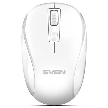 Wireless Mouse Sven RX-255W, White