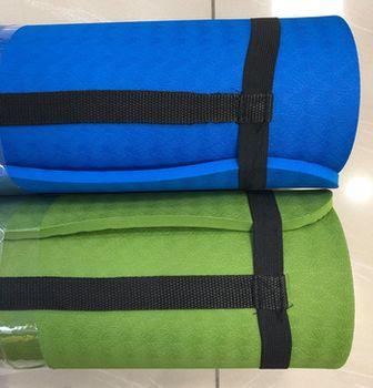 Коврик для йоги 183х61х1 см TPE (4325)