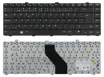 Keyboard Dell Vostro V130 ENG/RU Black