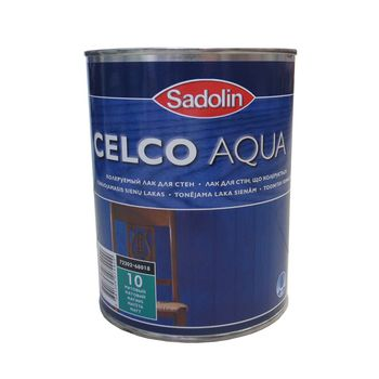 Sadolin Лак Celco Aqua 10 Матовый 1л