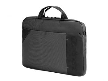 "CONTINENT NB bag 15.6"" - CC-101 Black, Top Loading, Double Compartment"