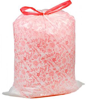 Пакеты для мусора Фрекен Бок с затяжкой, 35 л, 15 шт, Цветы