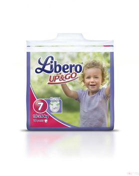 Libero Трусики UP&GO  7 (16-26kg) (18 шт.)