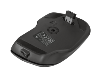 Wireless Mouse Trust Themo Rechargeable, Black