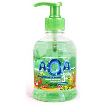 купить AQA baby Жидкое мыло для детей Морские приключения 300 мл в Кишинёве