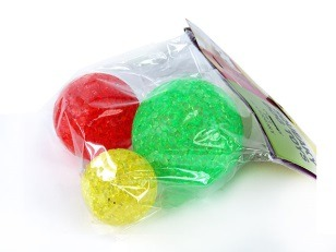 купить Набор из трех глицериновых мячей в Кишинёве
