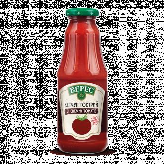 """Кетчуп из свежих помидоров """"Острый"""""""