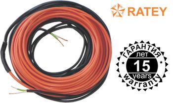 Электрический кабельный теплый пол «Ratey» 1250 W + программируемый терморегулятор в Подарок!