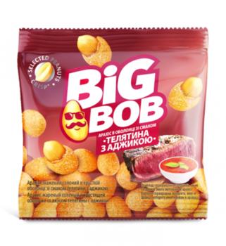 Арахис в оболочке со вкусом телятины и аджики Big Bob (30г)
