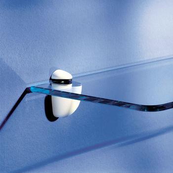 купить Полка стандартная Glassline 600x150x8 мм, прозрачное стекло в Кишинёве