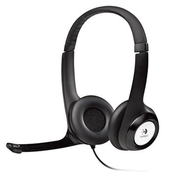 Logitech USB Headset H390, Noise-canceling Microphone, Headset: 20–20,000 Hz, Microphone: 100–10,000 Hz, In-line audio controls, USB
