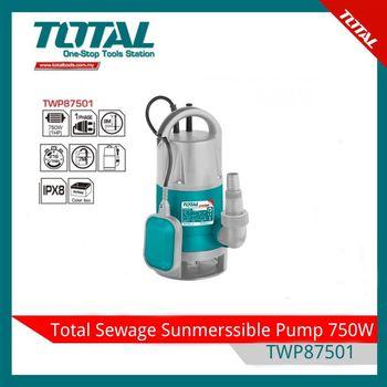 Погружной насос для бытовых отходов 750W Total TWP87501