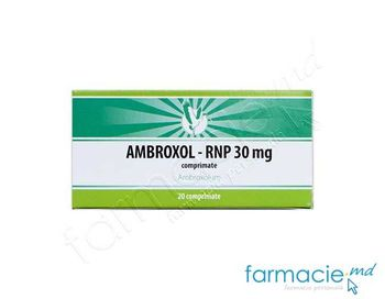 купить Ambroxol comp.30 mg N10x2 (RNP) в Кишинёве