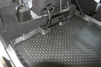 Коврик в багажник LAND ROVER Defender 90, 2007-> 3D, внед. длин.