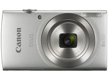 "DC Canon IXUS 185 Silver, 20.0Mpix, CCD 1/2.3"", Zoom 8x (28-224mm), f/3.2–6.9, Digic 4+, Size(L) 5152x3864, Movies HD 1280x720-25fps (Length-up to 4GB or 30min), max ISO:1600, Shutter 1/2000sec, scr.2.7"", SDHC,USB,HDMI Mini A/V out, NB-11LH, W126g"