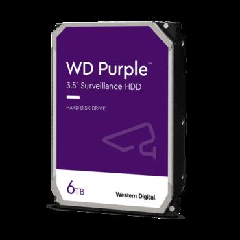 """3.5"""" HDD  6.0TB -SATA-128MB Western Digital """"Purple Surveillance (WD62PURZ)"""""""