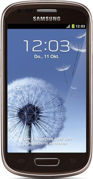 Samsung I8200 Gold Brown Galaxy S III mini Neo 8GB
