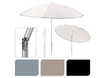 Зонт солнцезащитный D240cm, SHANGHAI, 16спиц, со сгибом